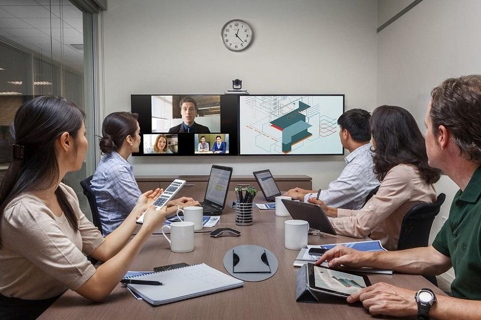 """vymeet云会议解决方案,一个更会开会的""""会议室"""""""